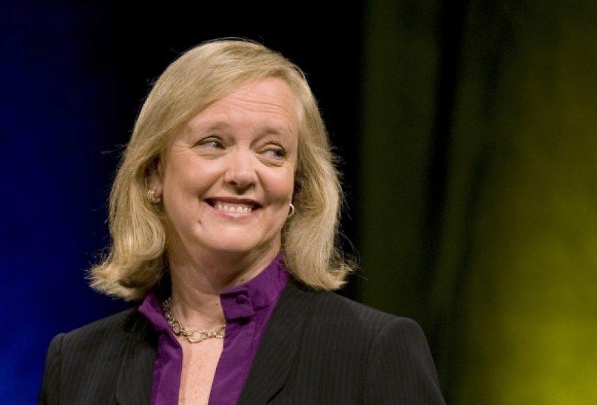 """Naujoji """"Hewlett-Packard"""" generalinė direktorė Meg Whitman."""
