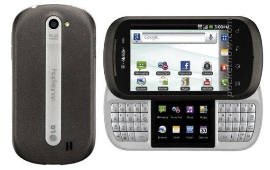 "Išmanusis telefonas ""LG DoublePlay"""