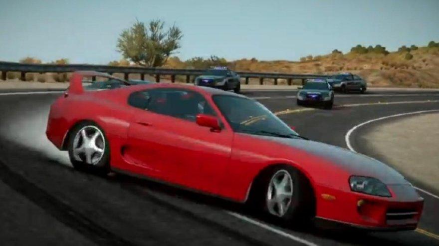 """""""Need for Speed: The Run"""" žaidimo kadras"""