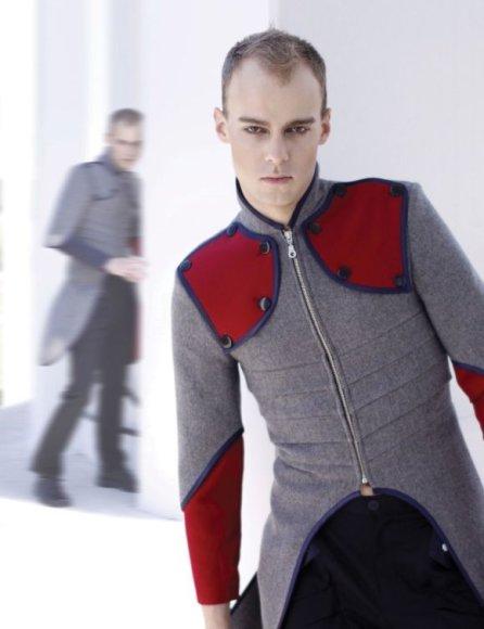 """Marius Vepšta pats pristatė kai kuriuos savo kolekcijos """"JIE"""" modelius."""