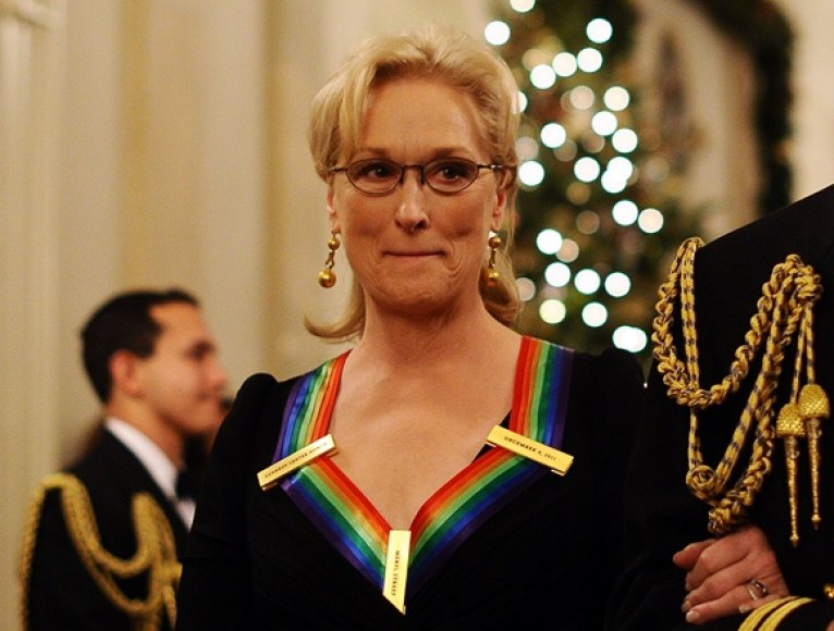 Ant Meryl Streep kaklo – Johno F. Kennedy centro apdovanojimas