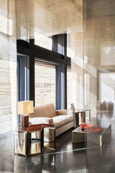 """""""Armani Casa"""" nuotr./""""Armani Casa"""" ekspozicijos objektai """"Salone del Mobile"""""""