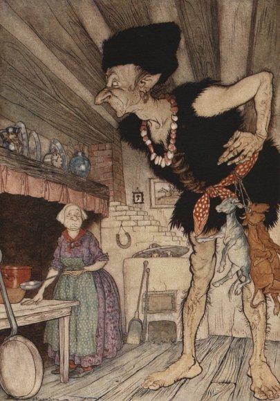 """Vida Press nuotr./Arthuro Rackhamo iliustracija rinkiniui """"Anglų pasakos"""""""