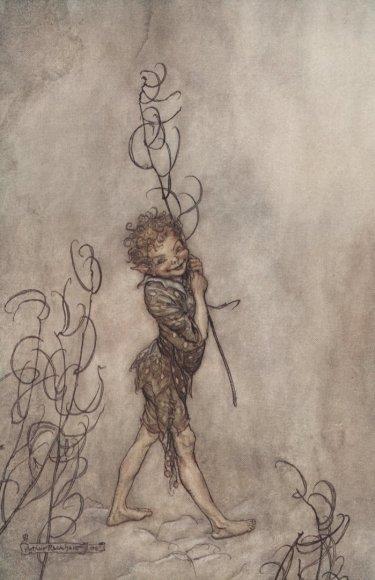 Vida Press nuotr./Arthuro Rackhamo iliustracija