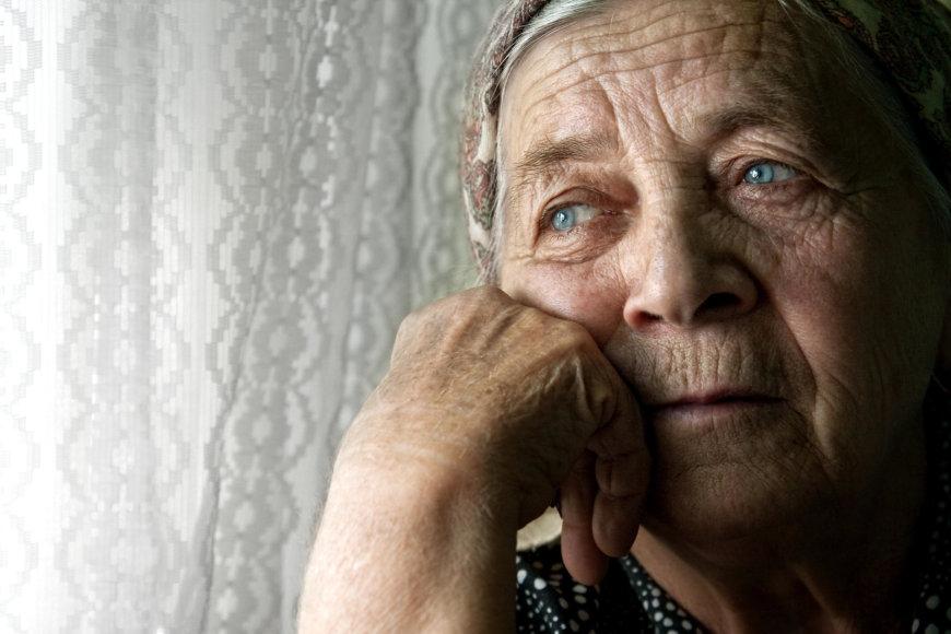 Vida Press nuotr./Garbaus amžiaus moteris