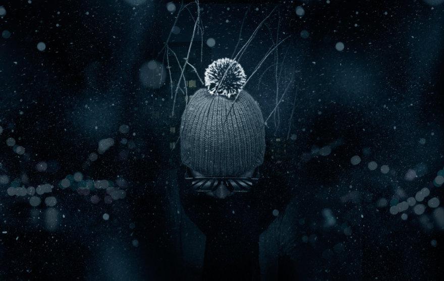 """Gamintojų nuotr./""""Hello!Moon"""" žieminė kepurė"""