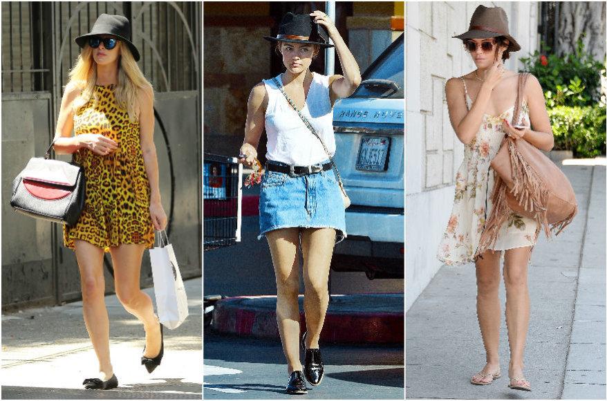 Vida Press nuotr./Nicky Hilton, Lucy Hale, Jenna Dewan