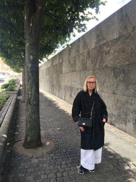 asmeninio albumo nuotr./Agnė Skripkinaitė Kopenhagos mados savaitėje
