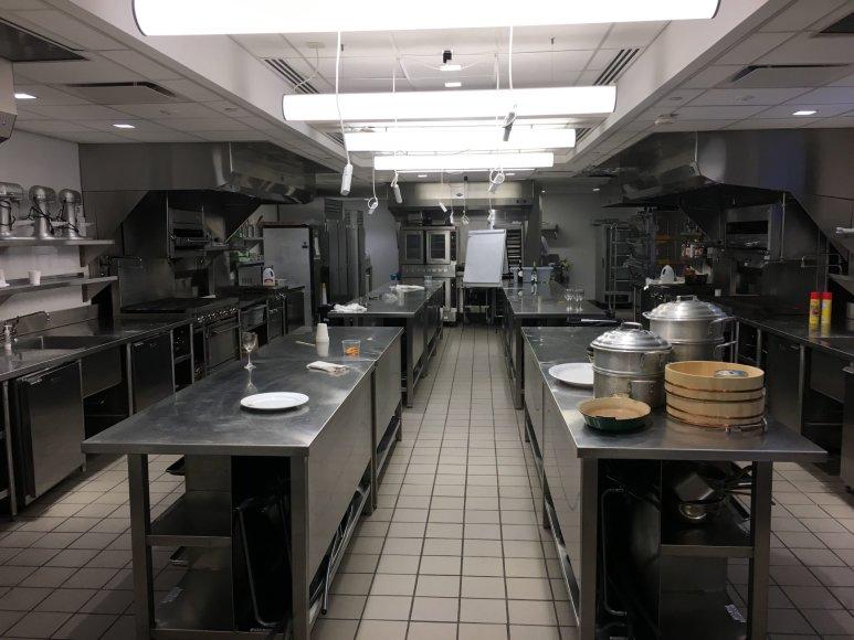 Nidos Degutienės nuotr./ Kulinarinės Edukacijos institute Niujorke