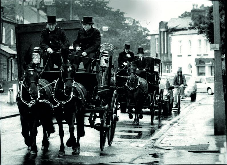 Vida Press nuotr./Viktorijos stiliaus laidotuvės Anglijoje