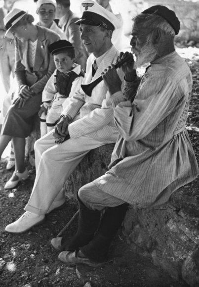 Vida Press nuotr./Josephas ir Magda Goebbelsai vieši Graikijoje, 1936 m.