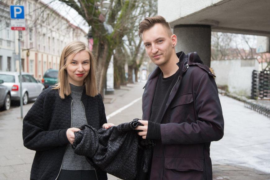 Juliaus Kalinsko/15min.lt nuotr./Mantas Bartkus, Neringa Martinėnaitė