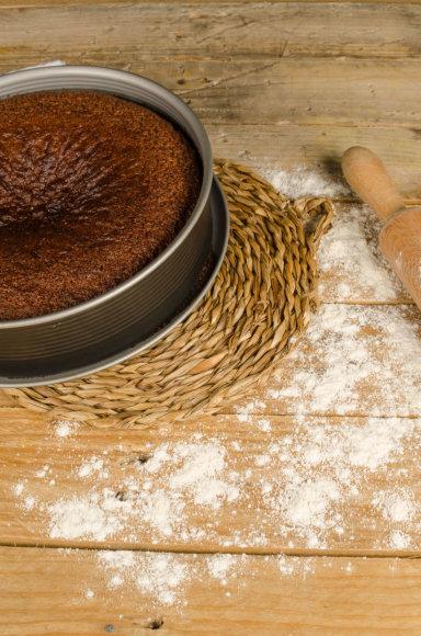 Vida Press nuotr./Medaus pyragas
