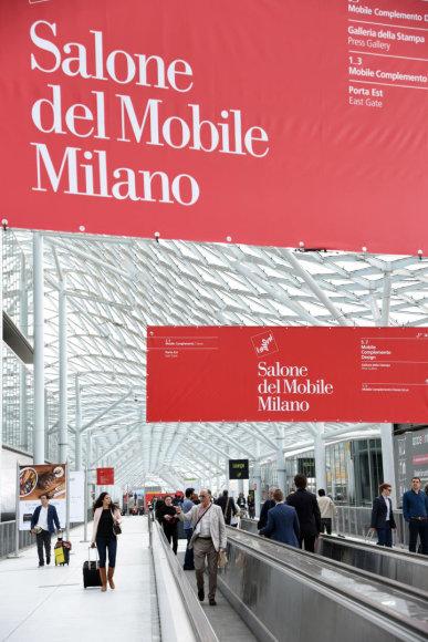 """Vida Press nuotr./Paroda """"Salone del Mobile"""" Milane"""