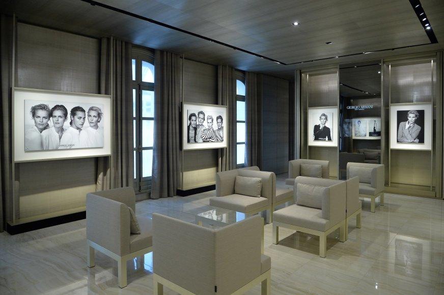"""""""Giorgio Armani""""/Peter Lindbergh nuotr./""""New Normal"""" kolekcijos reklaminės kampanijos nuotraukos"""