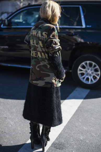 Vida Press nuotr./Niujorko mados savaitės gatvės stilius