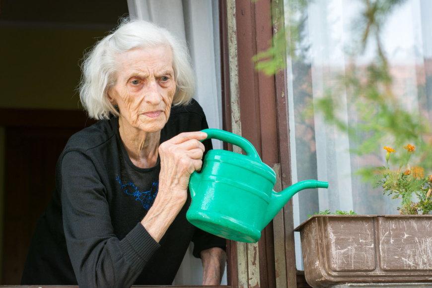 Vida Press nuotr./Sena moteris