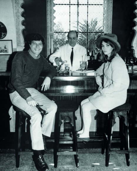 Vida Press nuotr./Paulas ir Talitha Getty, 1966 m.