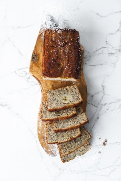Bananų duona be glitimo