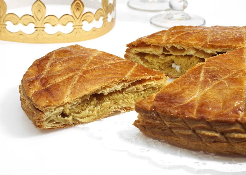 Prancūziškas migdolinis pyragas