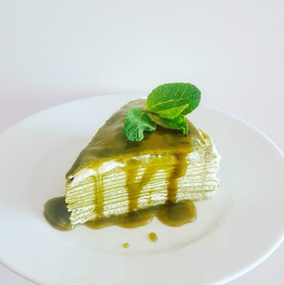 Japoniškas blynų tortas