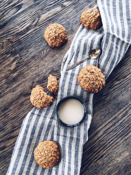 Avižiniai sausainiai su imbieru