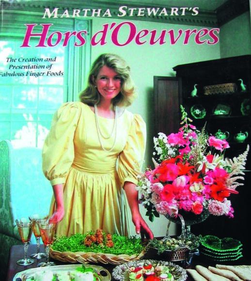 """Žurnalo """"Geras skonis"""" archyvo nuotr. /""""Martos Stiuart užkandžių vadovas"""" (""""Martha Stewart's Hors D'Oeuvres Handbook"""")"""