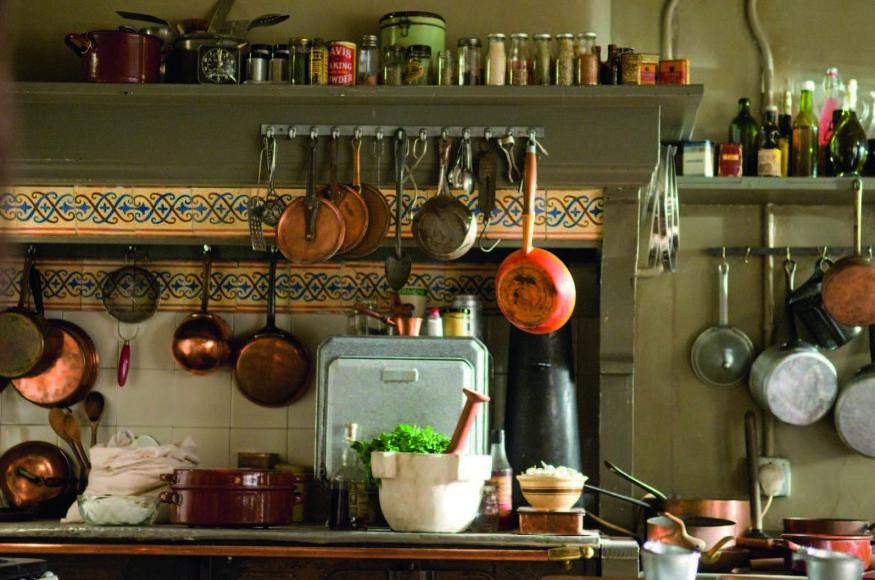 """Žurnalo """"Geras skonis"""" archyvo nuotr. /Virtuvė iš filmo """"Julie & Julia"""""""