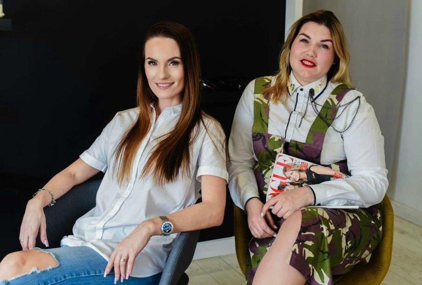Asmeninio albumo nuotr./Renata Baškienė (kairėje) ir Aušra Pacevičiūtė