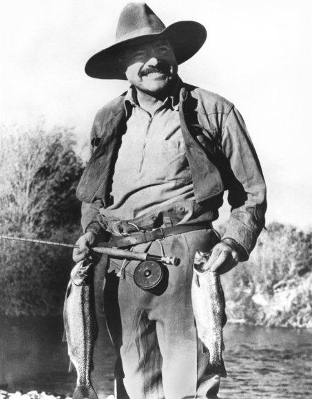 Vida Press nuotr./Ernestas Hemingway'us