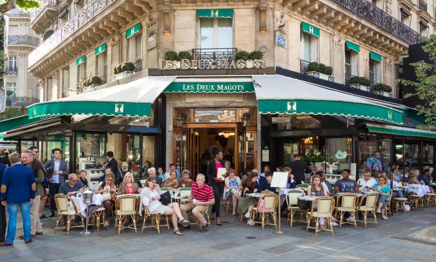 """Vida Press nuotr./Restoranas """"Les Deux Magots"""""""