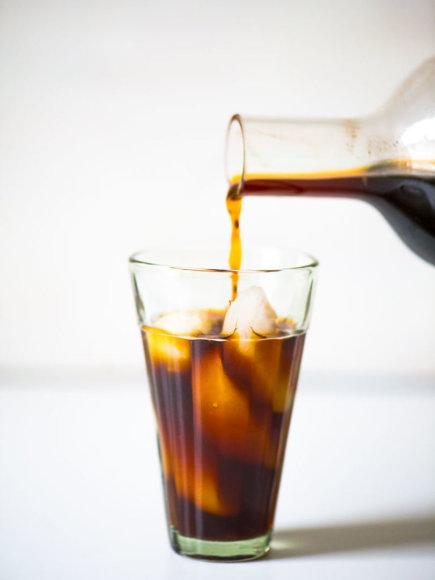 Šaltai virta kava