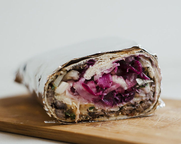 "Strelkabelka nuotr./""Elite café&shawarma"" kebabas"