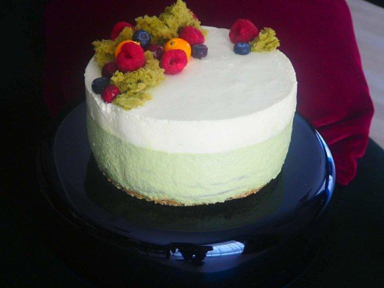 Liucinos Rimgailės gamintas tortas