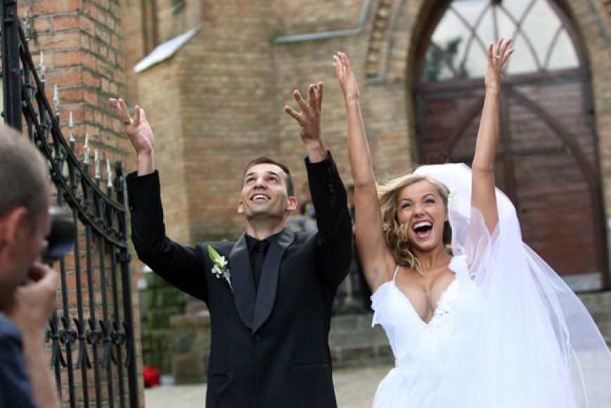 Godos Sabutytės ir Rolando Alijevo vestuvių akimirka