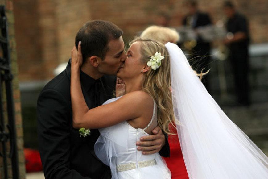Godos Sabutytės ir Rolando Alijevo vestuvių akimirkos