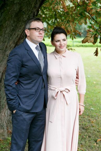 Eriko Ovčarenko / 15min nuotr./Viktoras Jakovlevas ir Renata Šakalytė-Jakovlienė