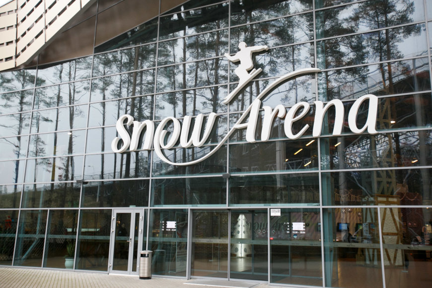 "Eriko Ovčarenko/15min.lt nuotr./""Snow Arena"""