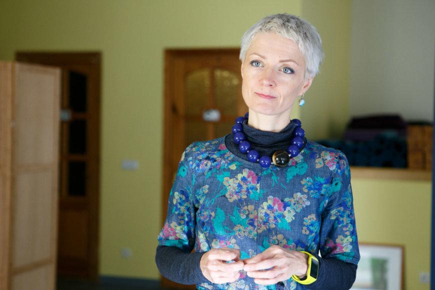 Eriko Ovčarenko / 15min nuotr./Jogos instruktorė Daiva Povilaitė
