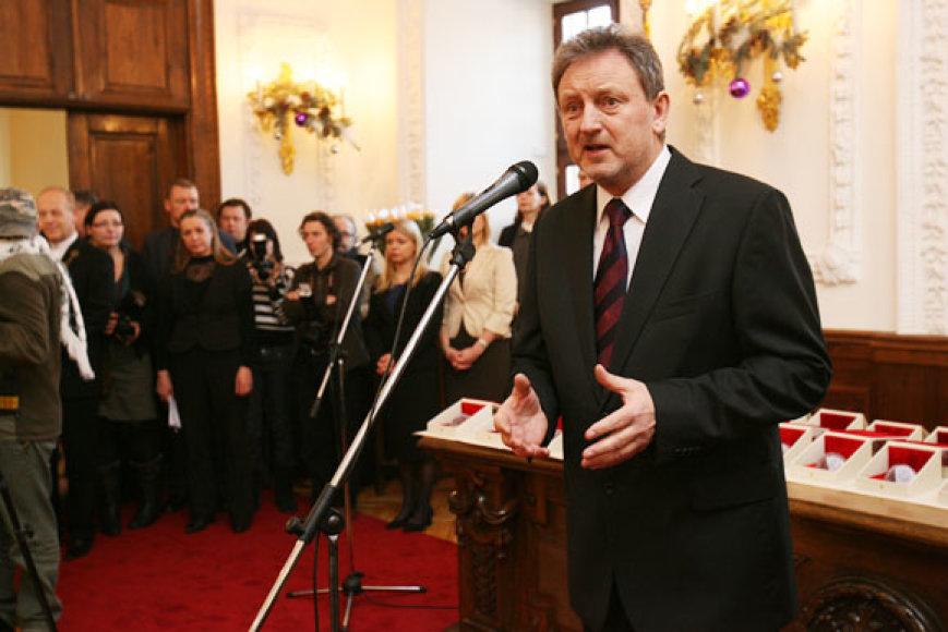 Gerumo ir padėkos šventę vedė aktorius P.Venslovas