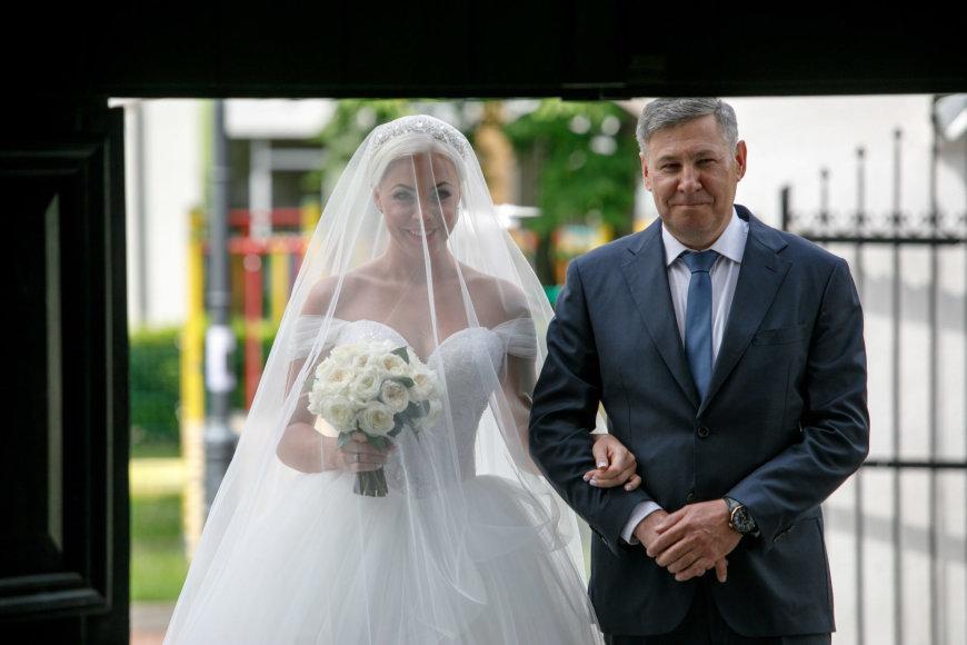 Eriko Ovčarenko / 15min nuotr./Greta Milerytė su tėčiu