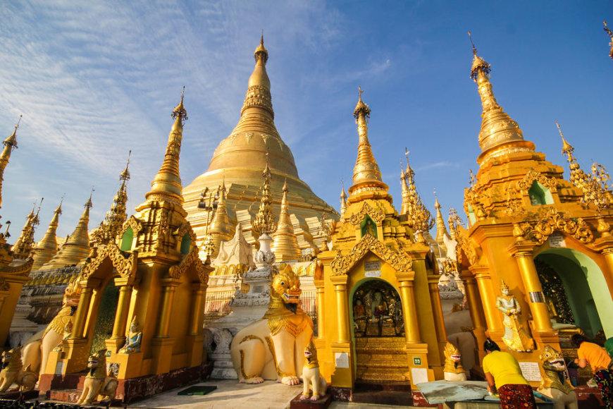 Shutterstock nuotr./Shwedagon Pagoda
