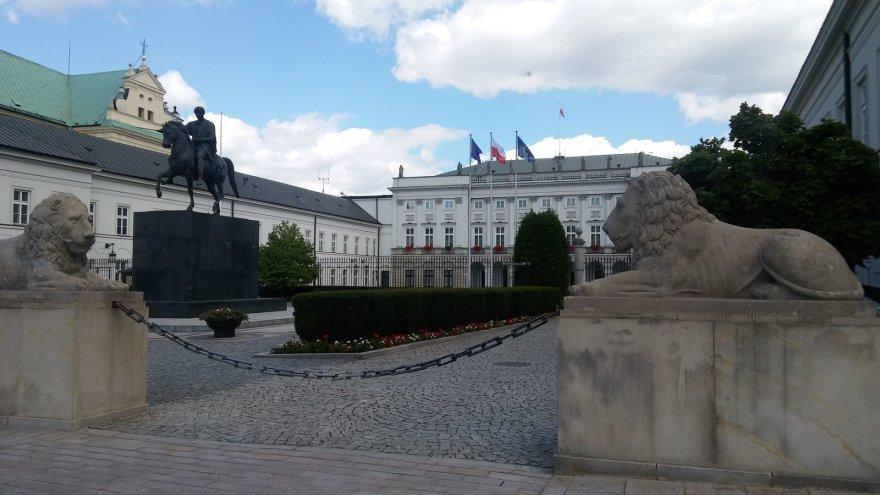 Vaido Mikaičio nuotr./Lenkijos prezidentūra