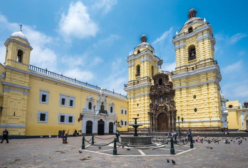Shutterstock.com/Pranciškaus vienuolynas Limoje, Peru