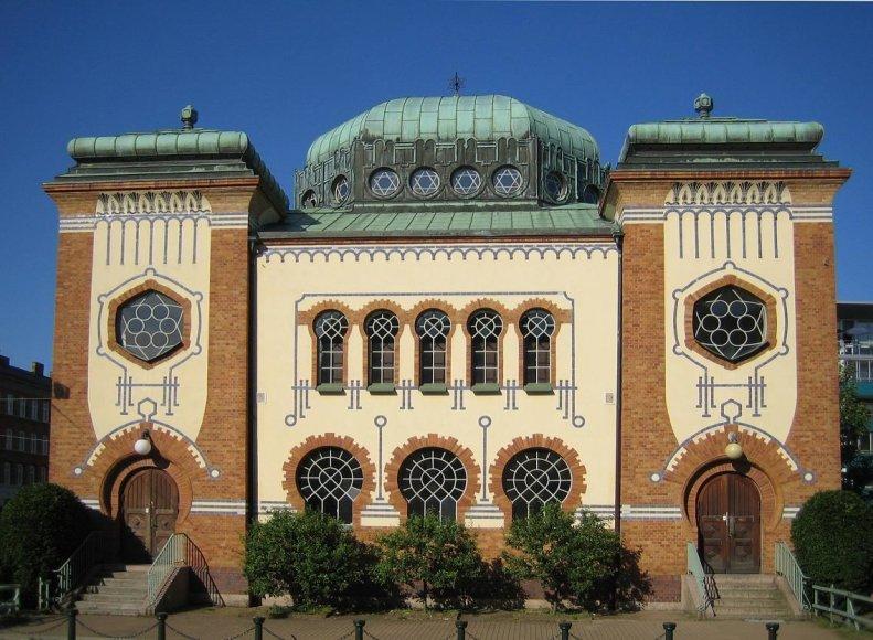 Vaido Mikaičio nuotr./Malmės sinagoga