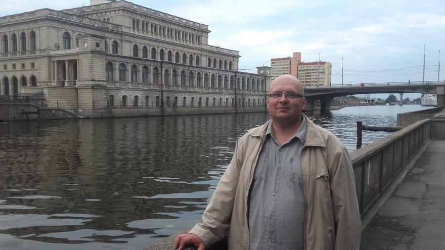Vaido Mikaičio nuotr./Mokytojas Adomas, keliavęs po Karaliaučiaus kraštą kartu su straipsnio autoriumi
