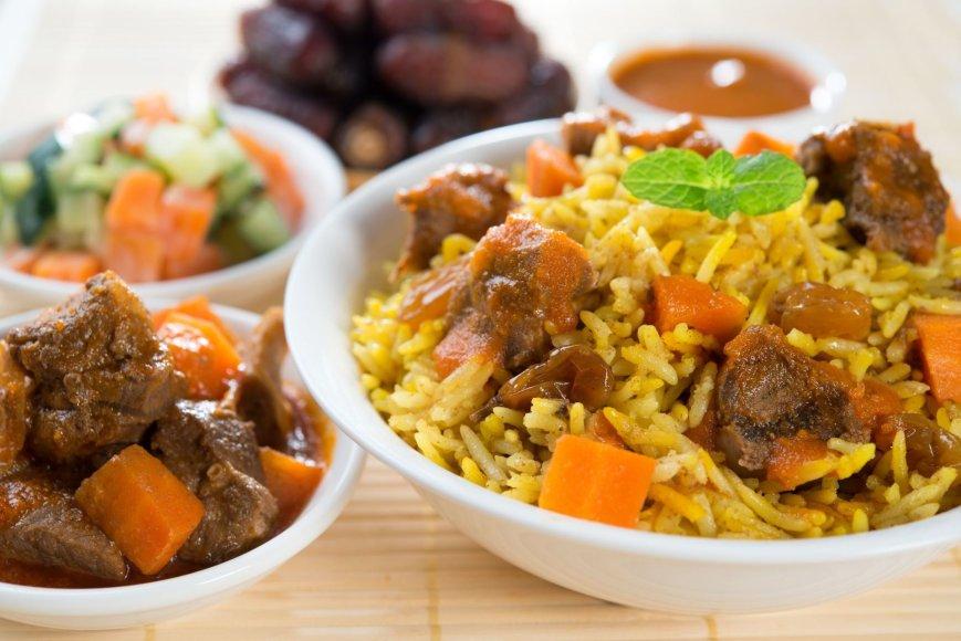 123rf.com nuotr./Halal turistams skirtas maistas – be kiaulienos ir jos produktų