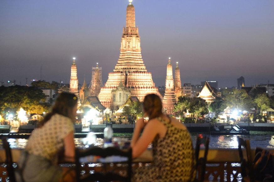 123rf.com/Naktinis Bankokas turi ką pasiūlyti turistams