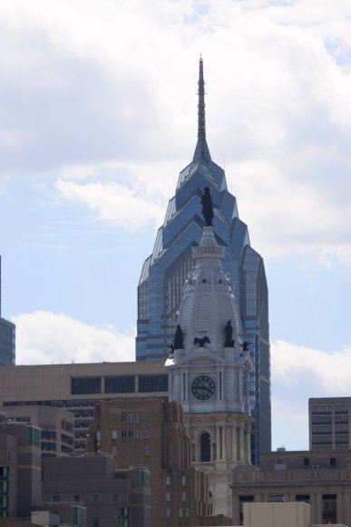 Vaido Mikaičio nuotr./Filadelfijos Laisvės dangoraižis