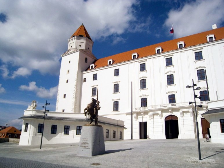 Vaido Mikaičio nuotr./Bratislavos pilies kiemas